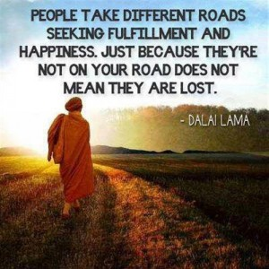 ppl-take-different-roads-quote